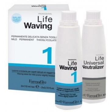 Permanente Lifeacidperm1cheveuxnaturels FARMATIVA110+110ML
