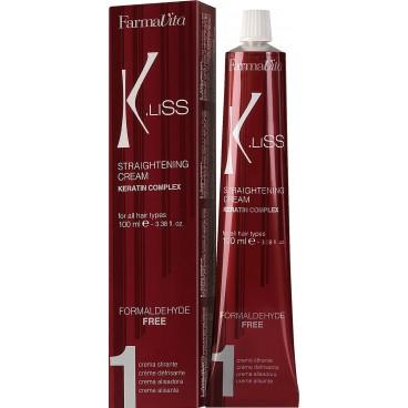 Crème de lissage K-liss keratine FARMATIVA 100ML