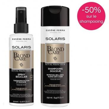 Pack Solaris Spray et Shampooing BlondCare Eugène Perma