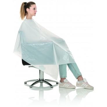 Black cut comfort cape
