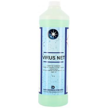 Désinfectant dégraissant professionnel Virus Net 1L