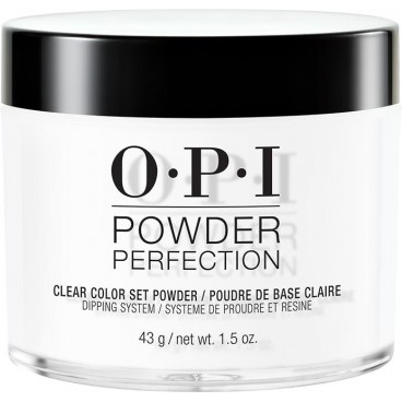 Powder Perfection Clear Color Set OPI 43g