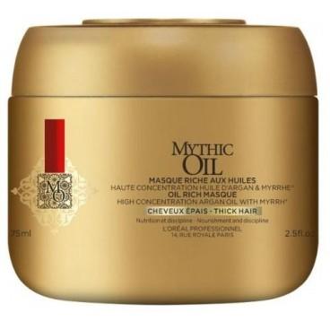 Masque cheveux épais Mythic Oil 75ML