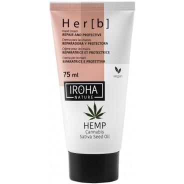 Her[b] Crème mains reparation & protection peau sèche Iroha 75ML