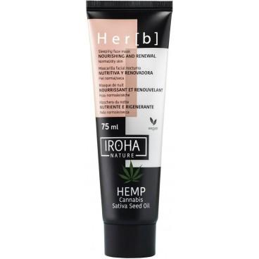 Her[b] Masque nuit nutrition & regeneration peau normale à sèche Iroha 75ML
