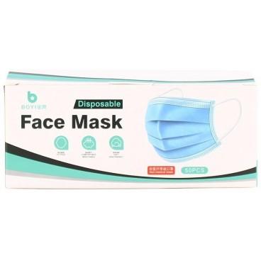 Boîte de 5 sachets de 10 masques jetables