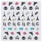 Adhesive decorations Peggy Sage nails 149691