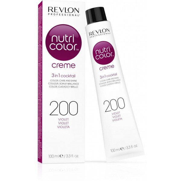 Revlon Nutri Crema del color del tubo 200 Violeta 100 ML