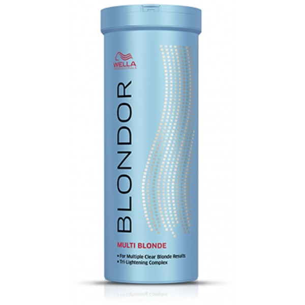 Polvere decolorante Blondor Wella Multiblond - 400 grammi