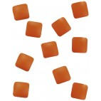 Décors métalliques Peggy Sage - studs orange
