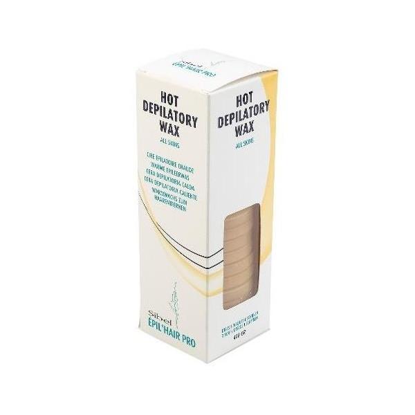 Hard Wax miel depilatoria 400 Grs