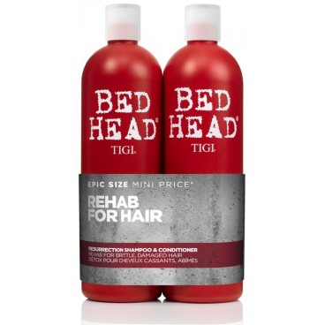 Tigi Bed Head Pack Résurrection 2 x 750 ML