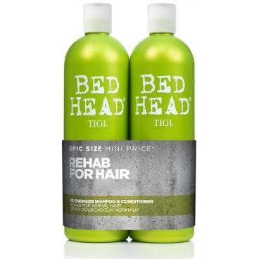 Tigi Bed Head Pack Ré-energize 2 x 750 ML