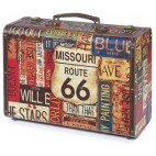 Vintage Road Suitcase