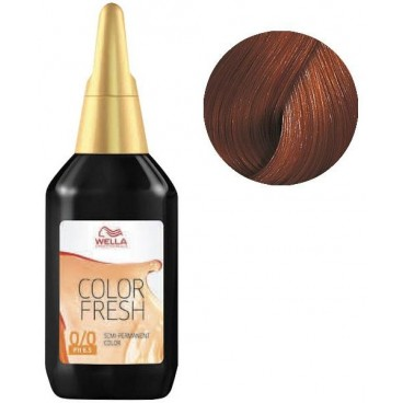 Color Fresh Wella 6/34 Dark Blonde Gold Copper