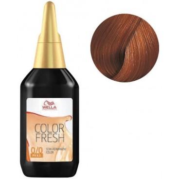 Color Fresh Wella 7/47 Blond Cuivré Marron