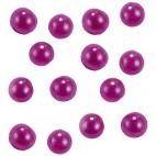 Glitter per unghie perle rosa