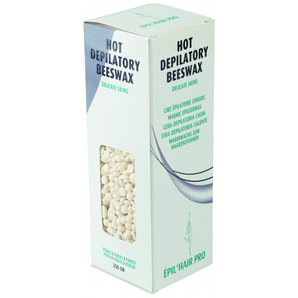 Cera depilatoria - Madreperlaceo - Sotto forma di perle - 250 g