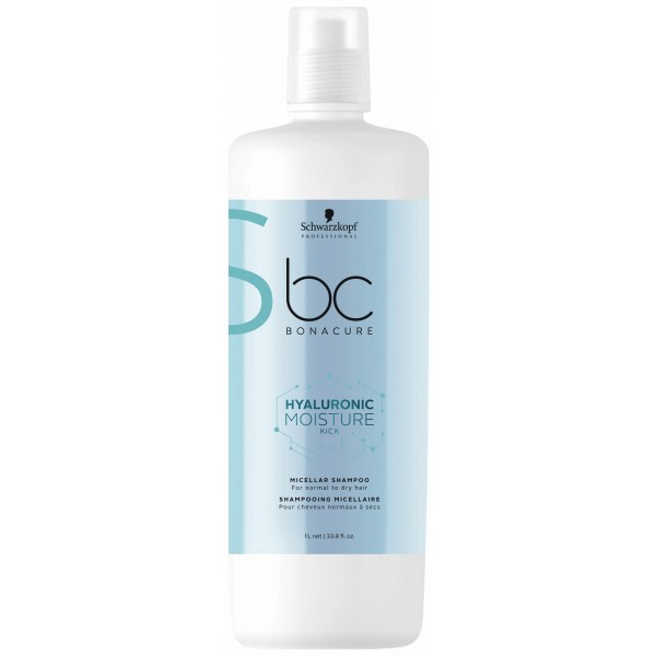 BC Hyaluronic Moisture Kick Shampooing Micellaire 1L