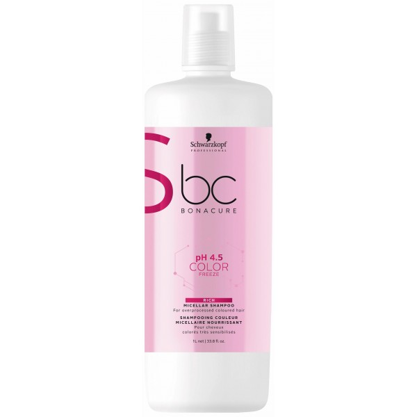 BC pH4.5 Color Freeze Shampooing Micellaire Nourrissant 1L