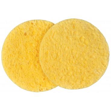 Eponges maquillage en cellulose ø7,5cm