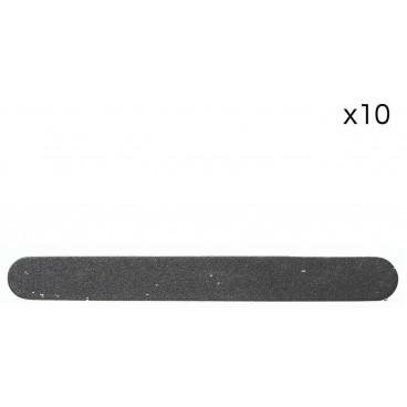 Pack de 10 mini limes double-face jetable moyenne 180/180