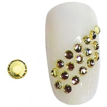Strass Ongles Jaunes SS5 X 20 148001