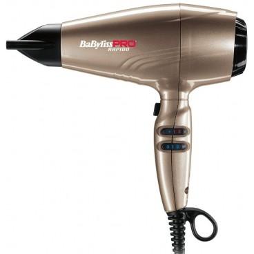 Sèche-cheveux ionic Rapido Light 2200W bronze Babyliss Pro