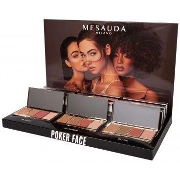 Palette Poker face n°3 tan Mesauda