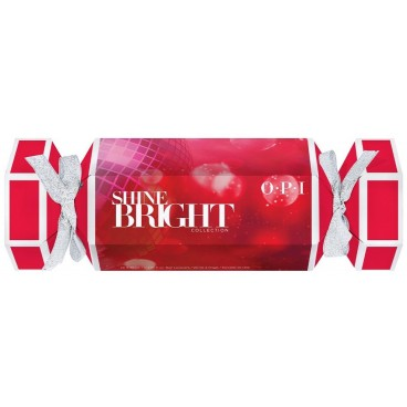 Box 4 mini varnishes Shine Bright OPI