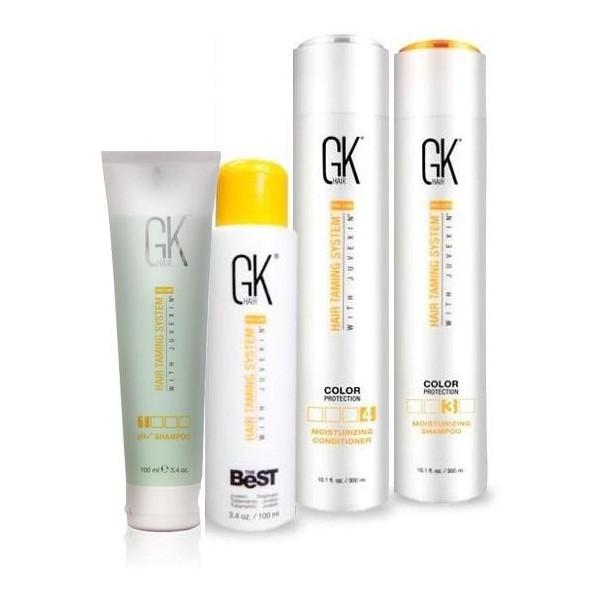 Smoothing Kit GKhair The Best 100 ML + 300 ML care