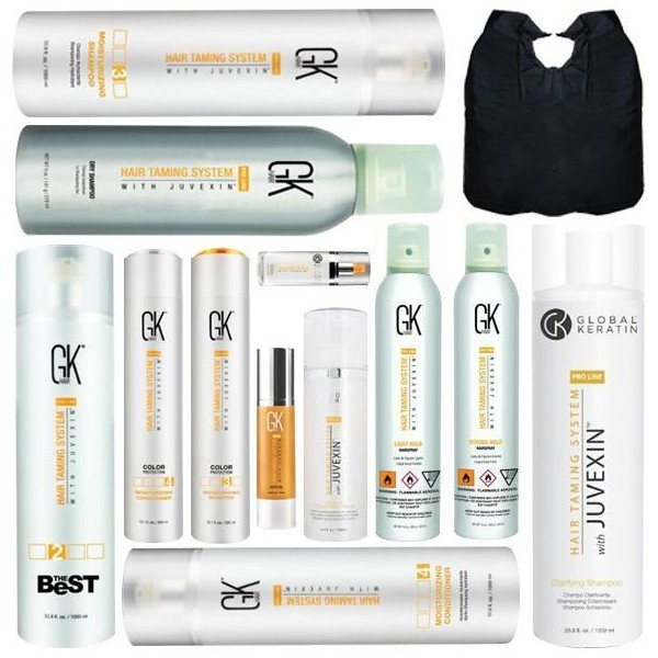 GKhair The Best 1000 ML Smoothing Pack