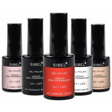Sibel early bird color 2 gel varnish 14ML