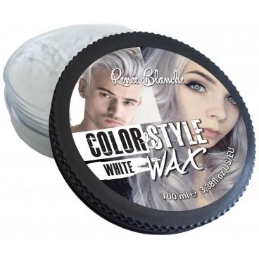 Cire coiffante et colorante Color&Style rouge Renée Blanche 100ML