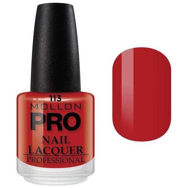 Vernis Classique 15 ml Mollon Pro Rouge Classique - 113
