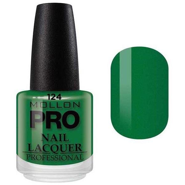 Klassische Lack 15 ml Mollon Pro Emerald Green - 124