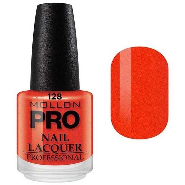 Vernis Classique 15 ml Mollon Pro Jaune de Cadmium Orange - 128
