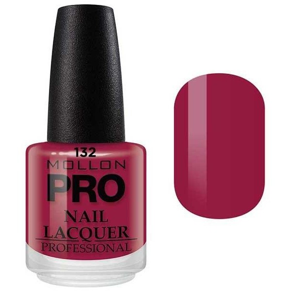 laca clásica 15 ml Mollon Pro Rojo De la India - 132