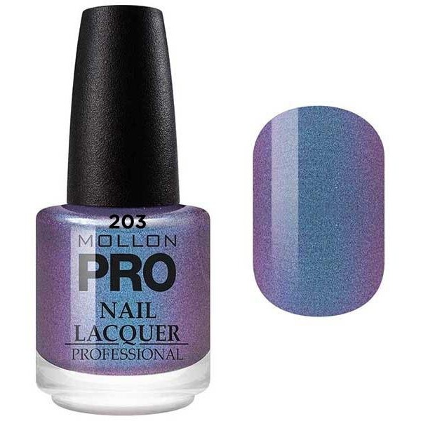 Klassische Lack 15 ml Mollon Pro Touch Purple - 203