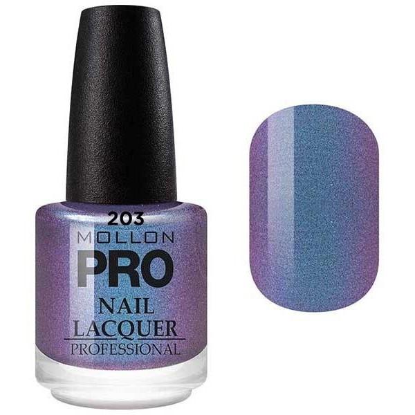 laca clásica 15 ml Mollon Pro Touch Purple - 203