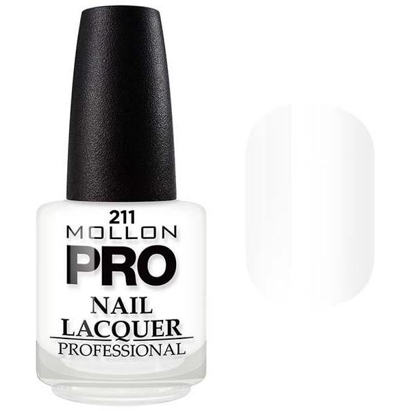 laca clásica 15 ml Mollon Pro Blanco Elegance - 211
