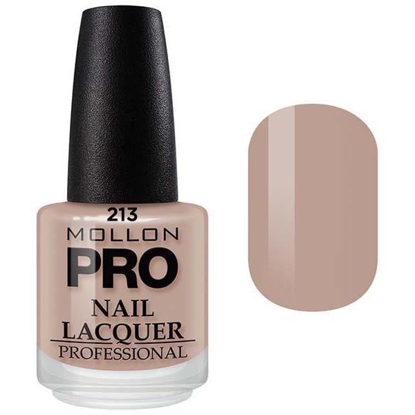 Klassische Lack 15 ml Mollon Pro Nude Pearl - 213