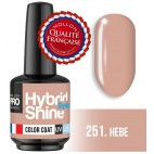 Mini Vernis Semi-Permanent Hybrid Shine Mollon Pro 8ml Hebe - 251