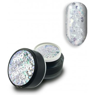 Gel holographique Shimmer Diamonds n°2 Mollon Pro