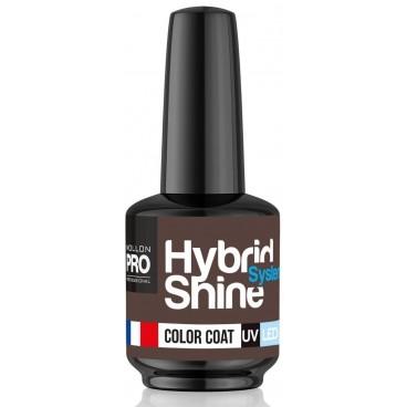 Mini vernis semi-permanent Hybrid Shine n°323 Mocha Mollon Pro 8ML
