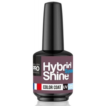 Mini vernis semi-permanent Hybrid Shine n°324 Rosetta Mollon Pro 8ML