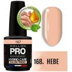 Vernis Semi-permanent Hybrid Care Mollon Pro 15ml Hebe - 168