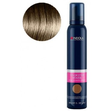 Mousse Colorante Indola Chatain Clair