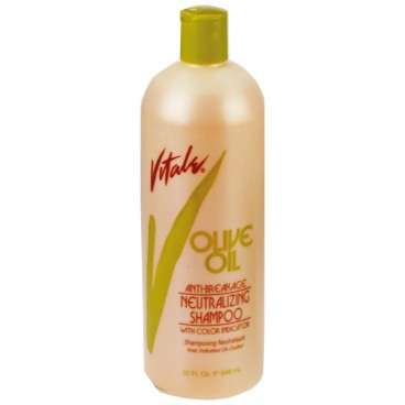 Shampoing post défrisage Vitale Olive Oil 946ML