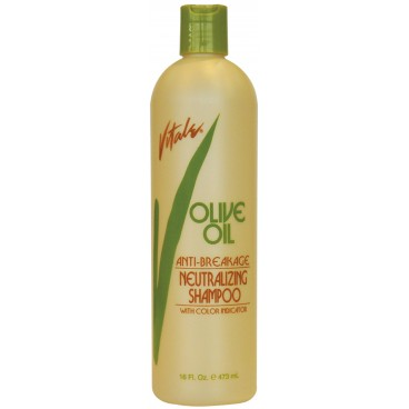 Shampoing post défrisage Vitale Olive Oil 473ML